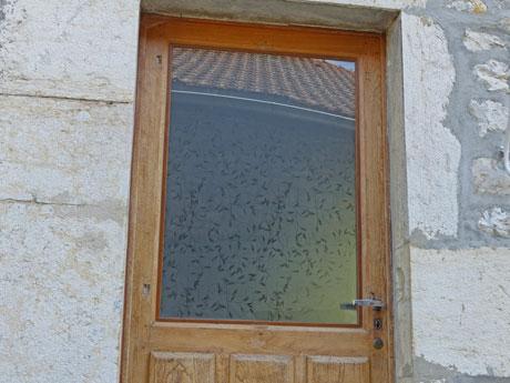 La vitrerie for Porte double vitrage